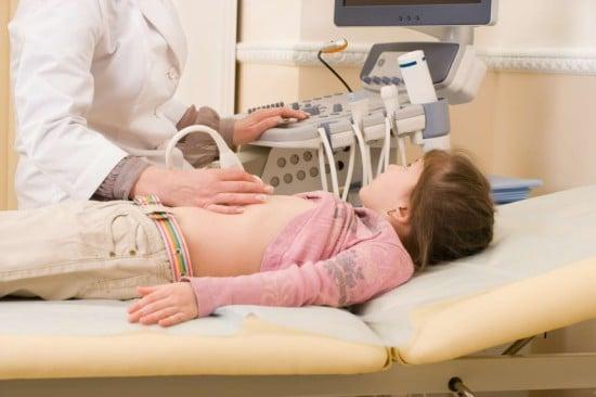 УЗИ брюшной полости ребенка